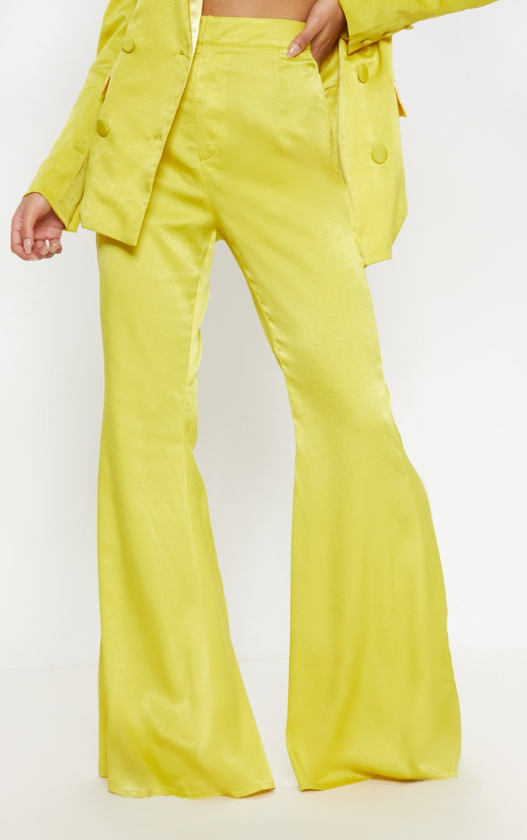 Lime Tailored Extreme Flared Trouser 2