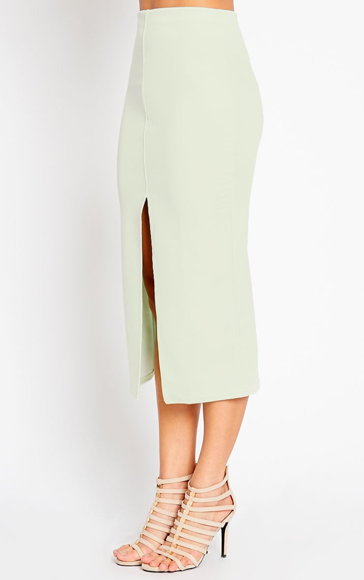 Kaja Mint Scuba Split Skirt 4