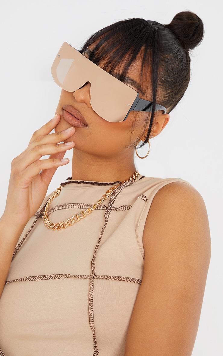 Rose Revo Oversized Back Frame Sunglasses 1