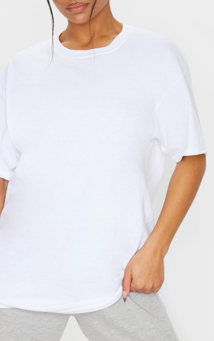 White Boyfriend T Shirt 4
