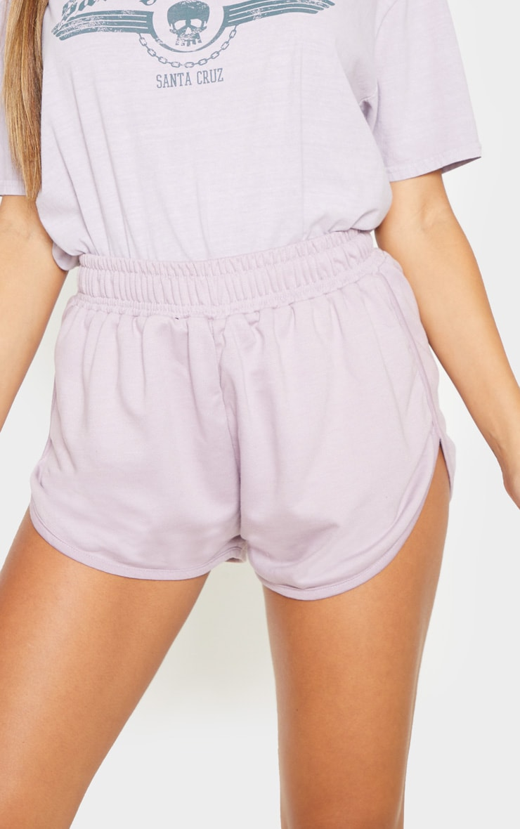 Dusty Lilac Sweat Runner Short 6