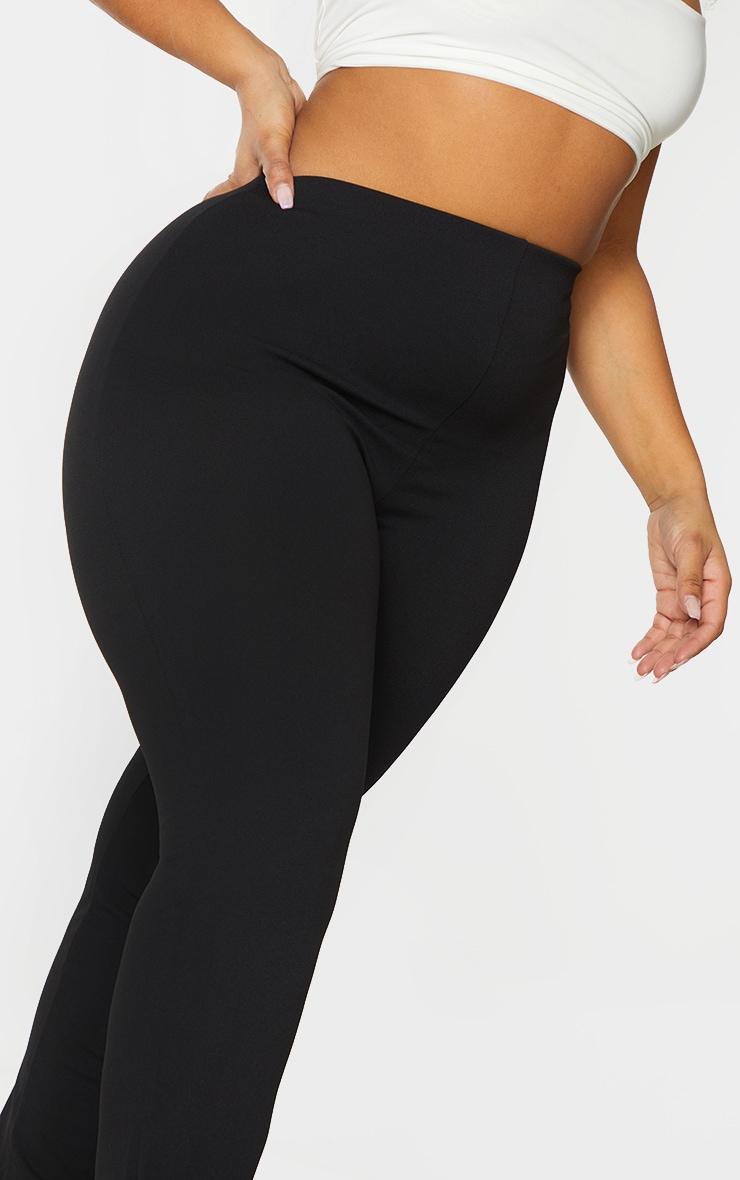 PLT Plus - Pantalon slim en crêpe noir 4