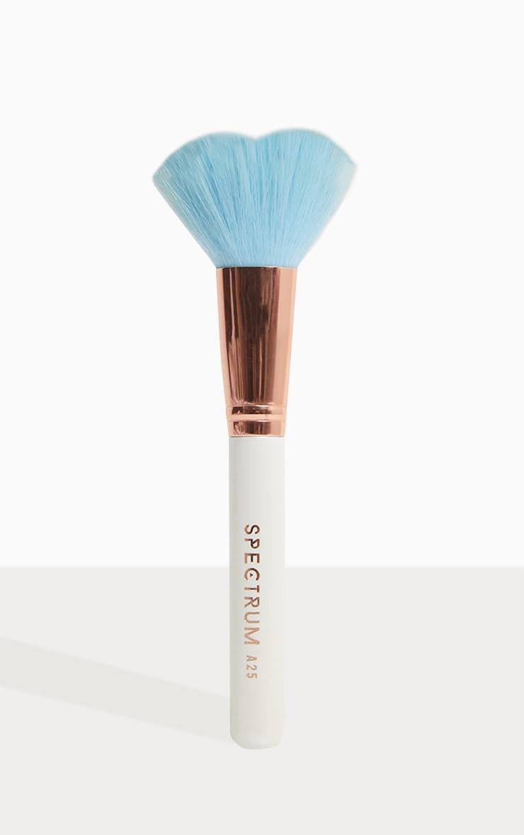 Spectrum BA25 Blue Heart Shaped Brush