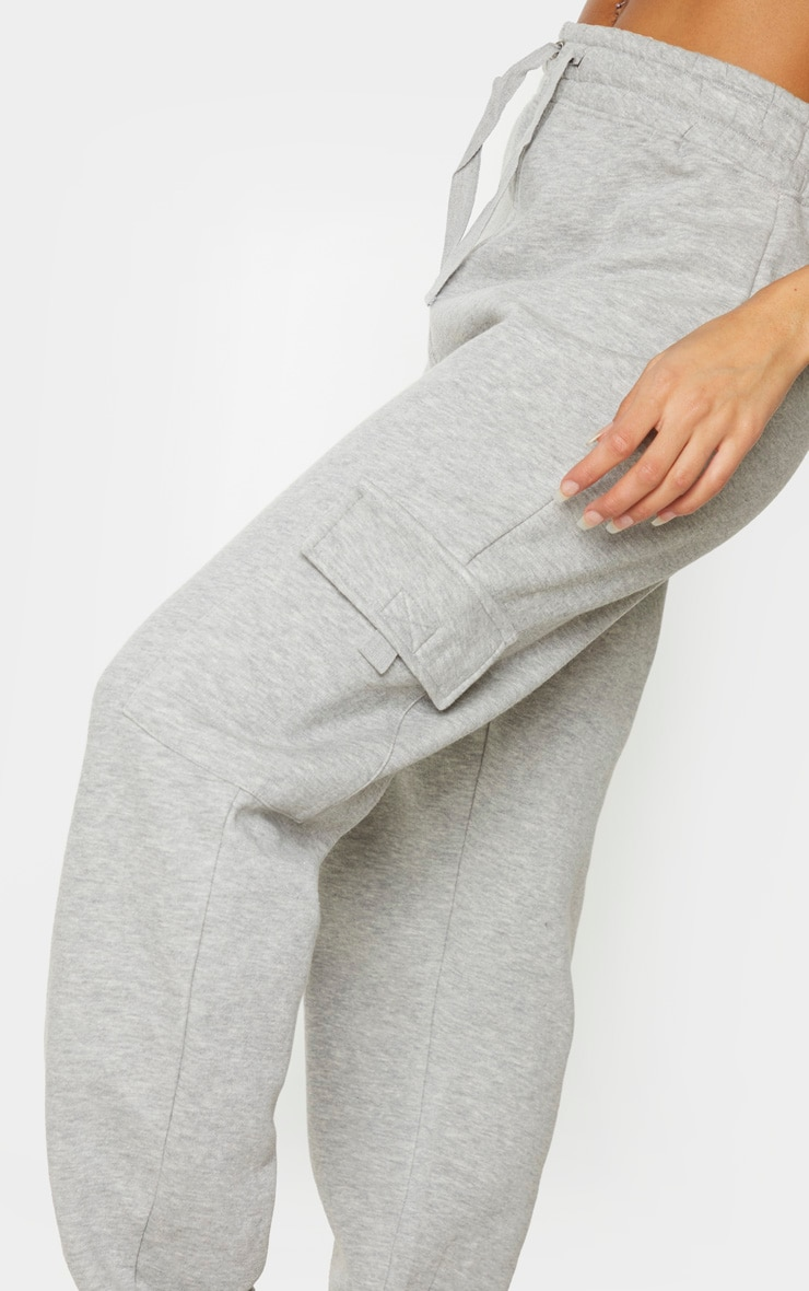 Grey Pocket Joggers 4