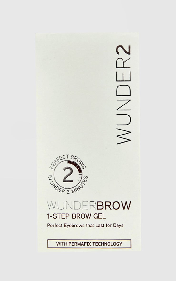 Wunderbrow 1-Step Brow Gel Brunette 2