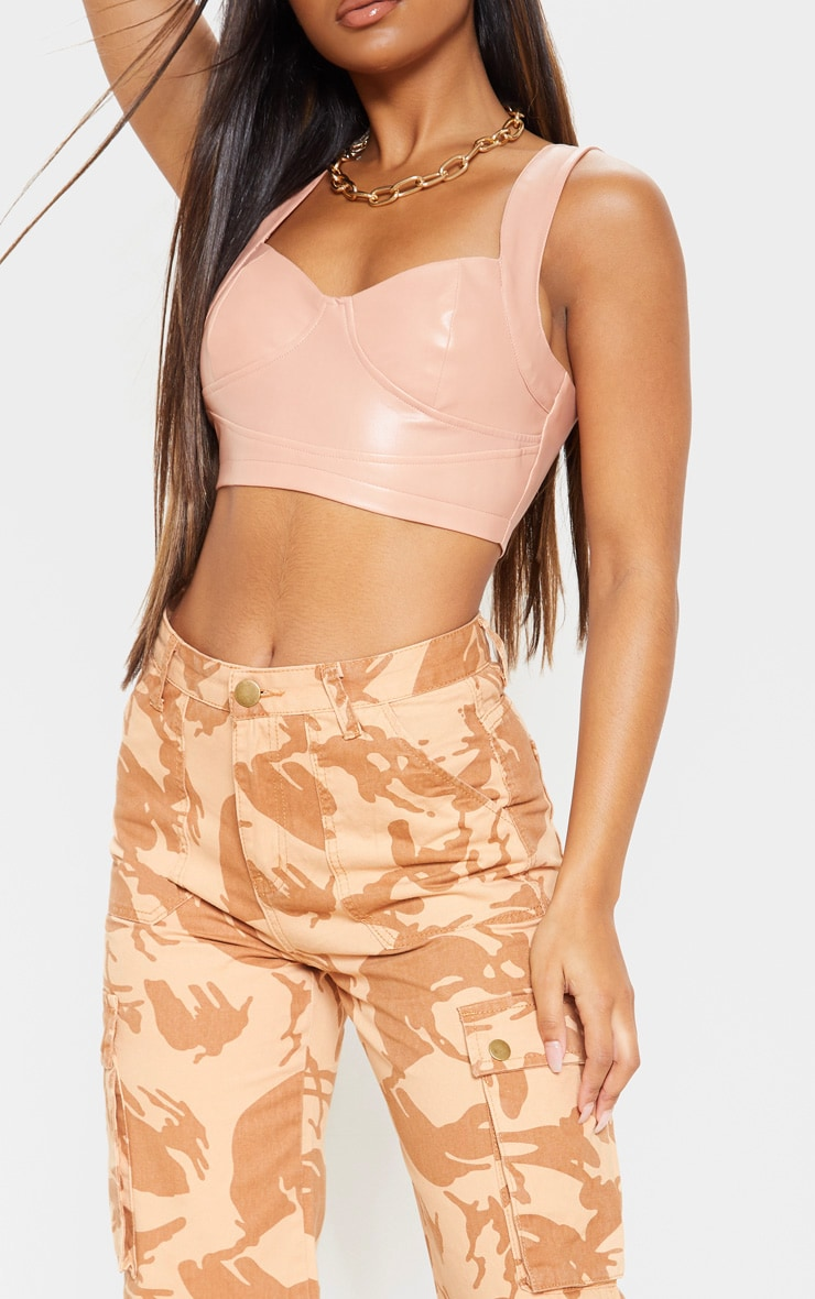Camo Cargo Baggy Wide Leg Cropped Jeans 5