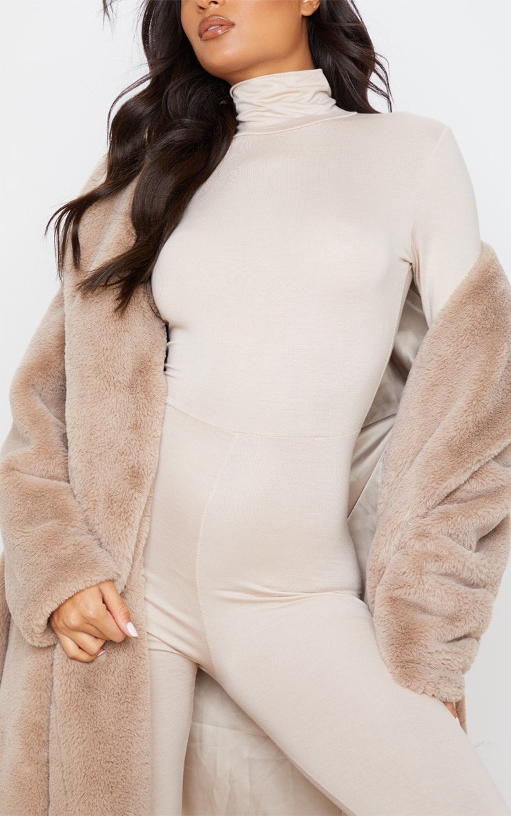 Stone Roll Neck Long Sleeve Jumpsuit 6