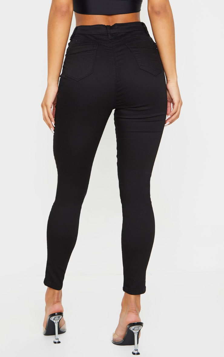 Black Bum Shape Jeans 3