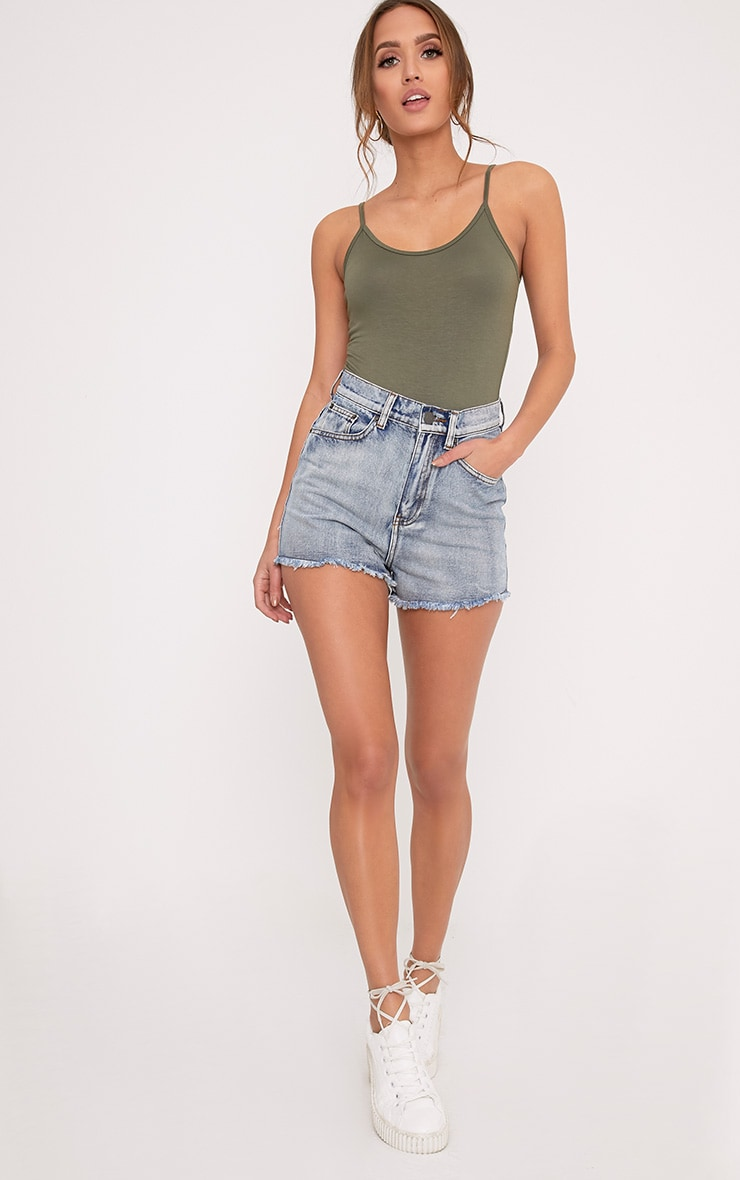Basic Khaki Bodysuit Do Not Use 5