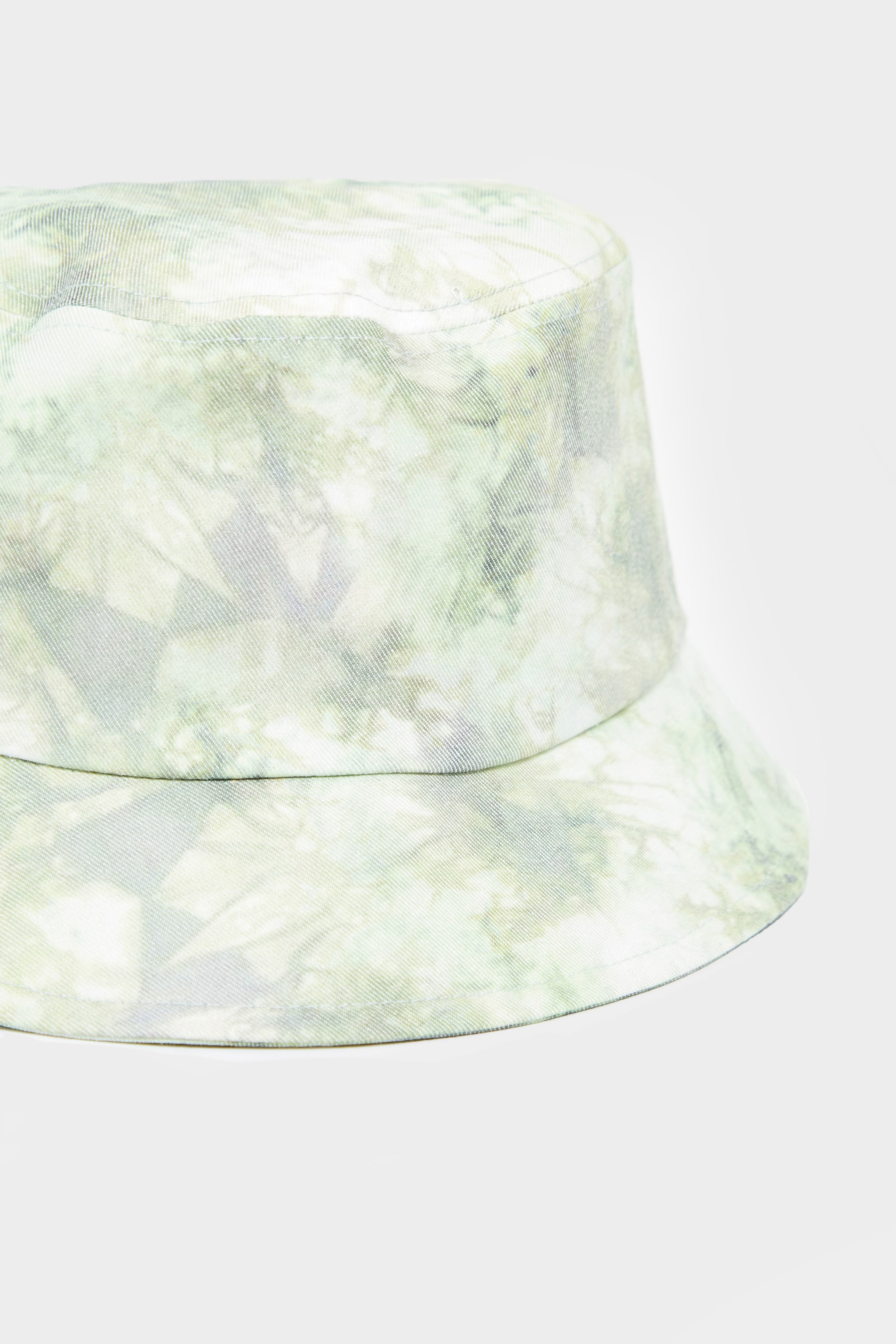Green Tie Dye Bucket Hat 3
