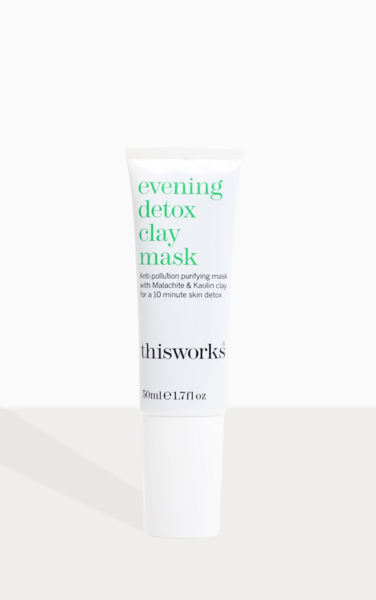 This Works Evening Detox Clay Face Mask 50ml 4