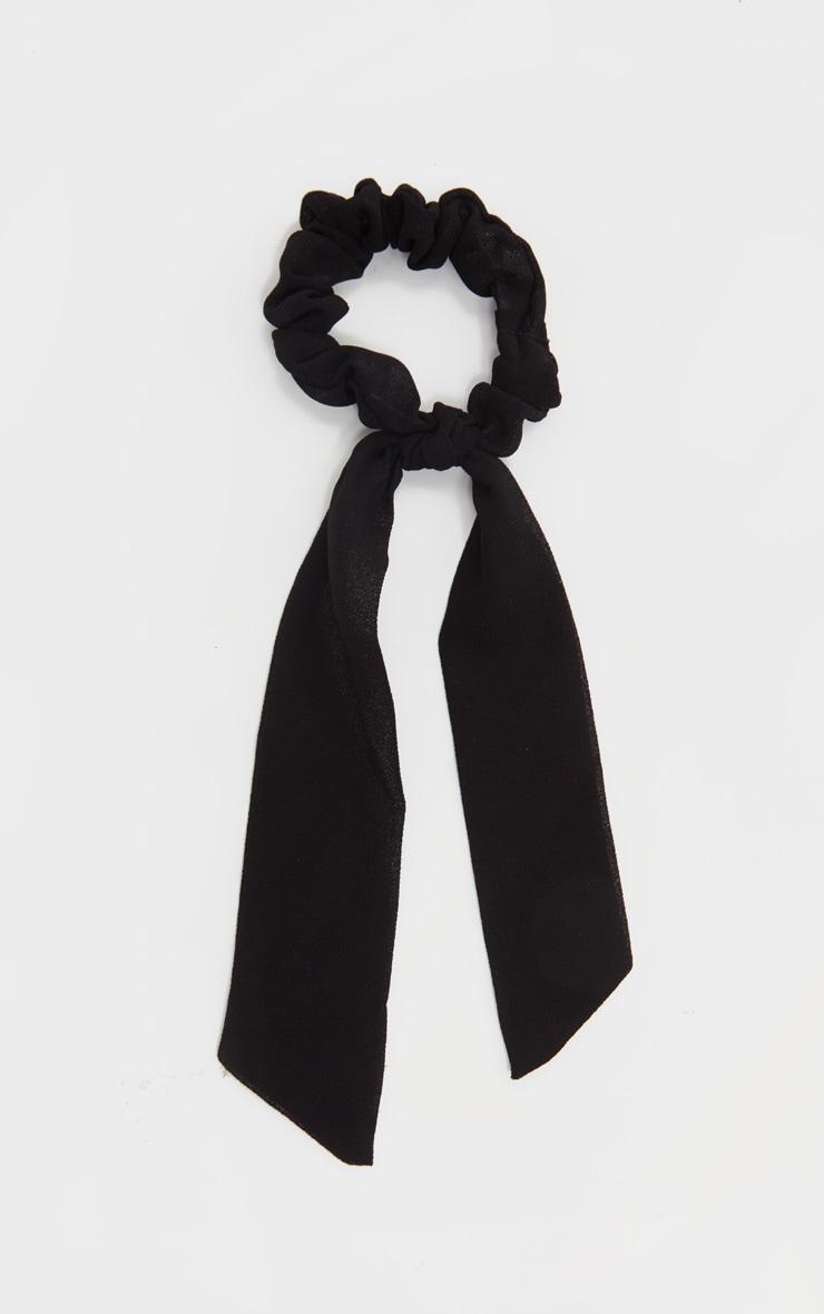 Black Scrunchie And Hair Tie 2
