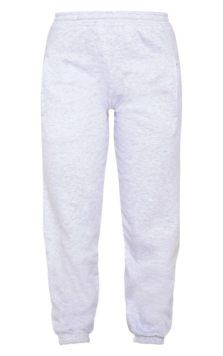 Grey Marl Casual Joggers 3