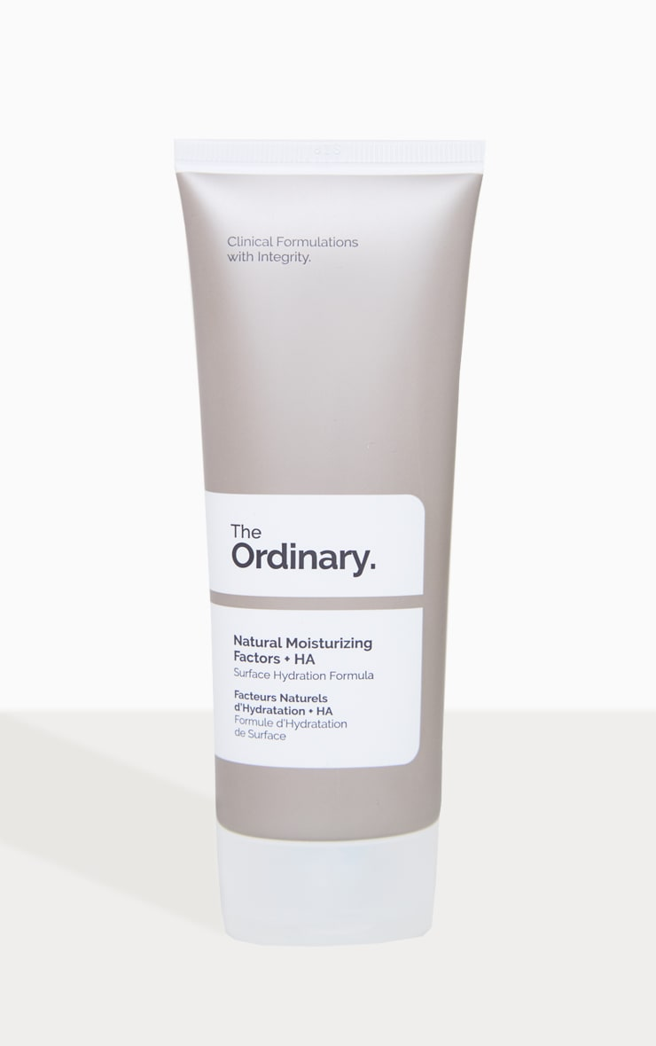 The Ordinary - Crème hydratante facteurs naturels + HA 100ml 1
