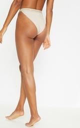 0d1c2b0ea5 PRETTYLITTLETHING Nude Tonal High Leg Knicker image 4