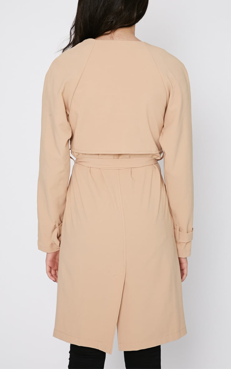 Ashia Camel Trench Coat 2