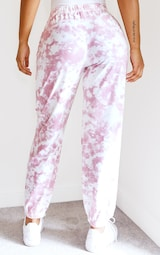 Pink Tie Dye Casual Joggers 3