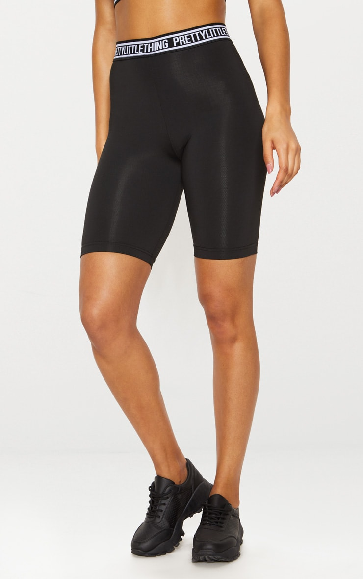 PRETTYLITTLETHING Black Bike Shorts 3