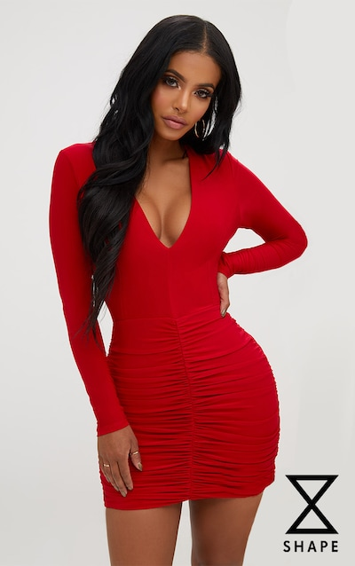 Bodycon Dresses Tight Amp Fitted Dresses Prettylittlething