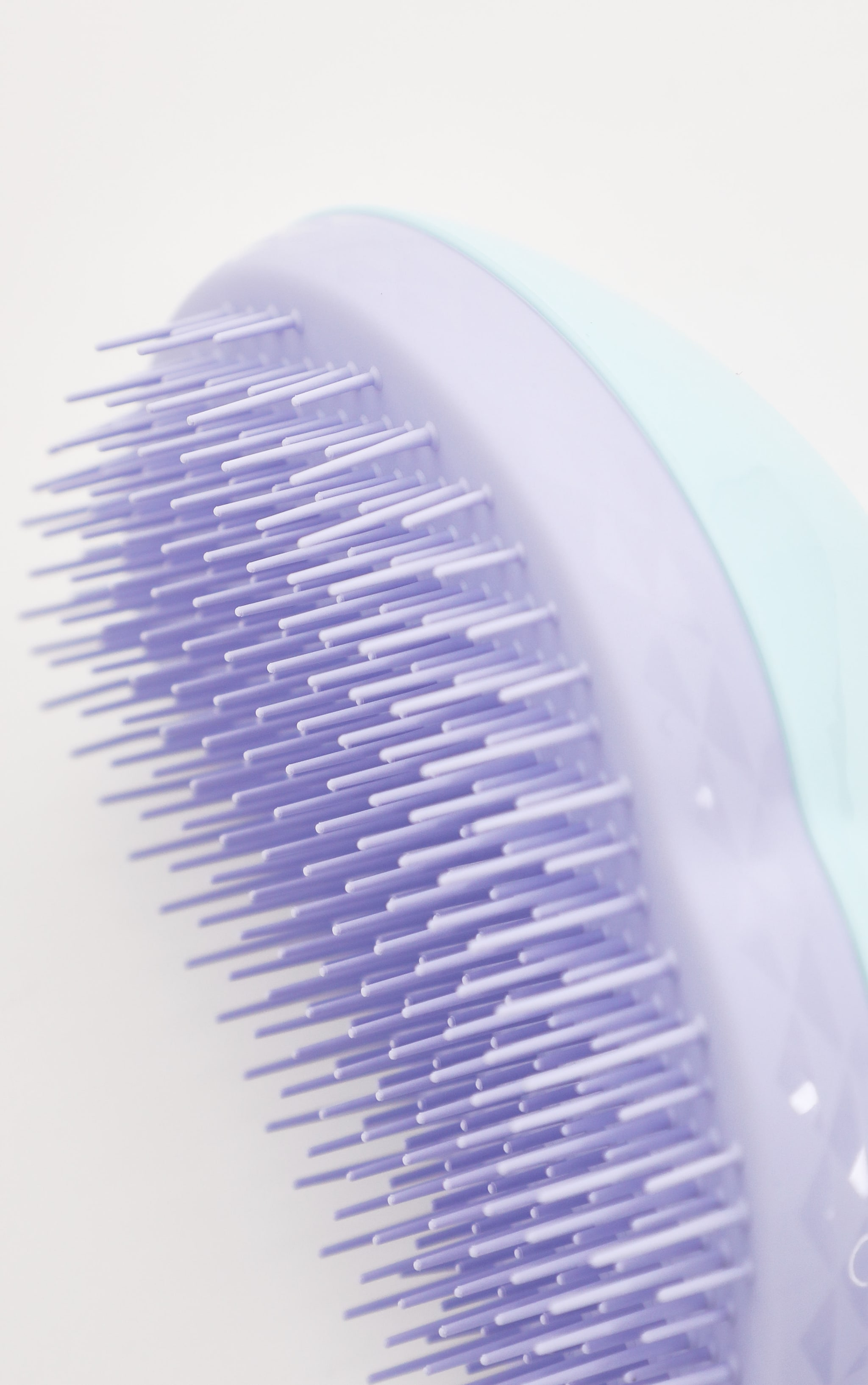 Tangle Teezer Fine And Fragile Detangling Hairbrush Mint Violet 4