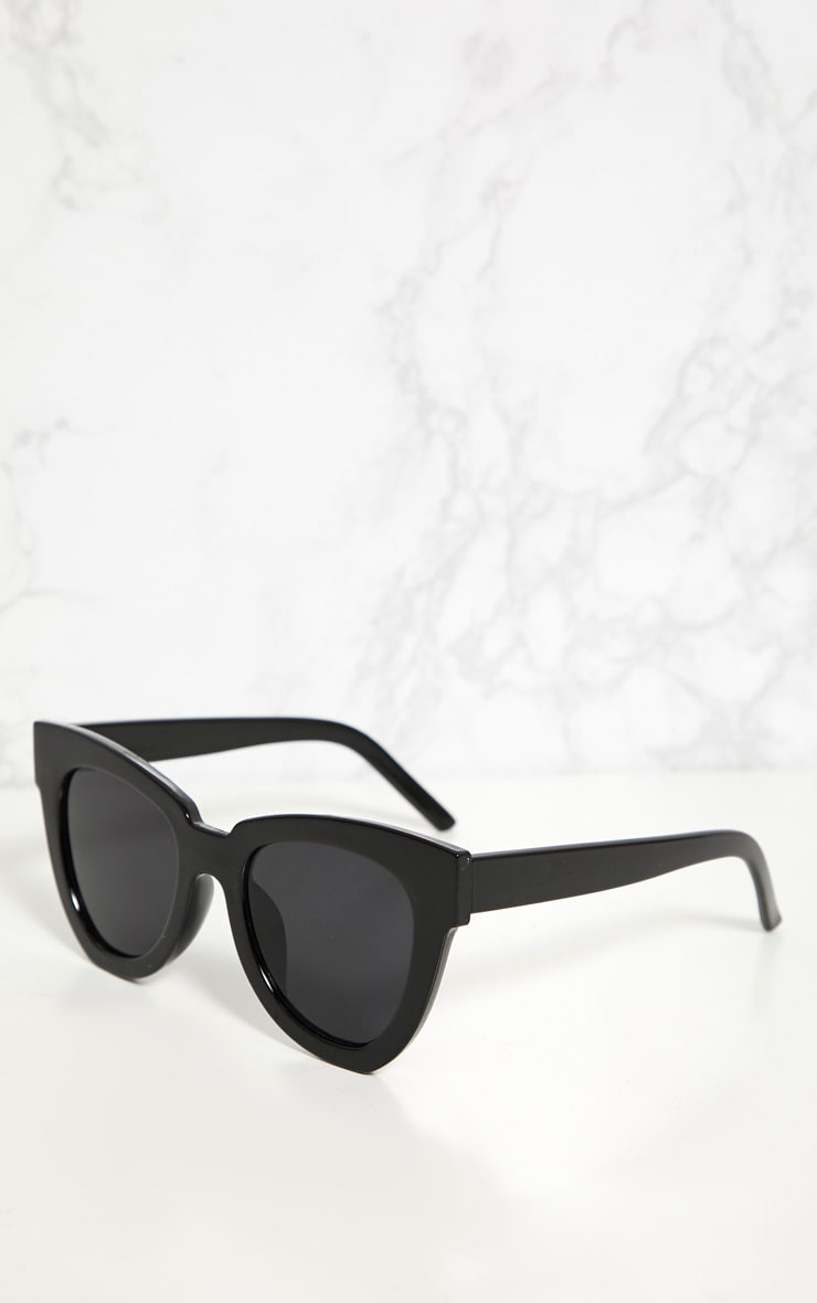 Black Winged Sunglasses 1