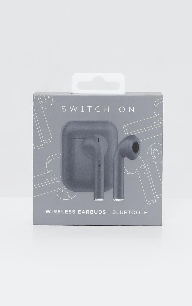 Black Wireless Earphones 2