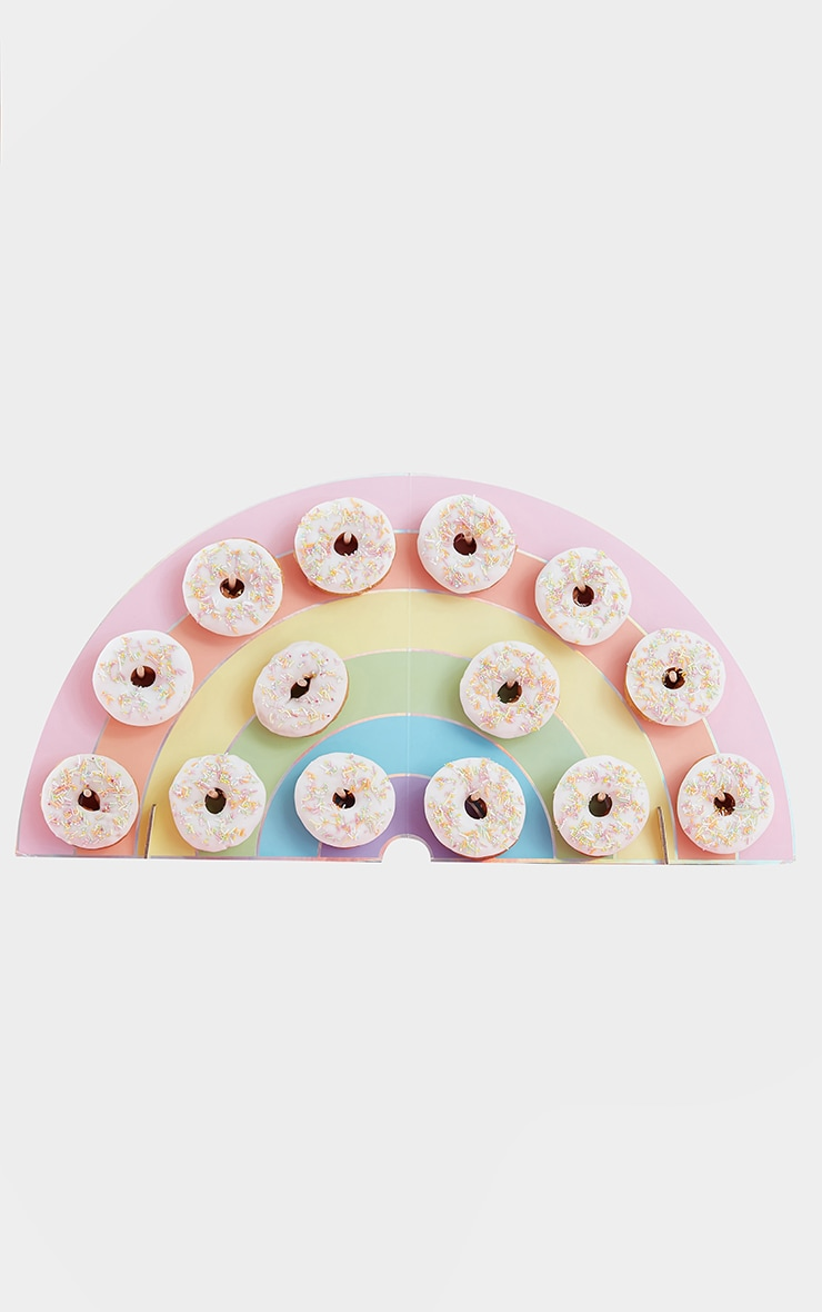 Ginger Ray Rainbow Donut Wall 2