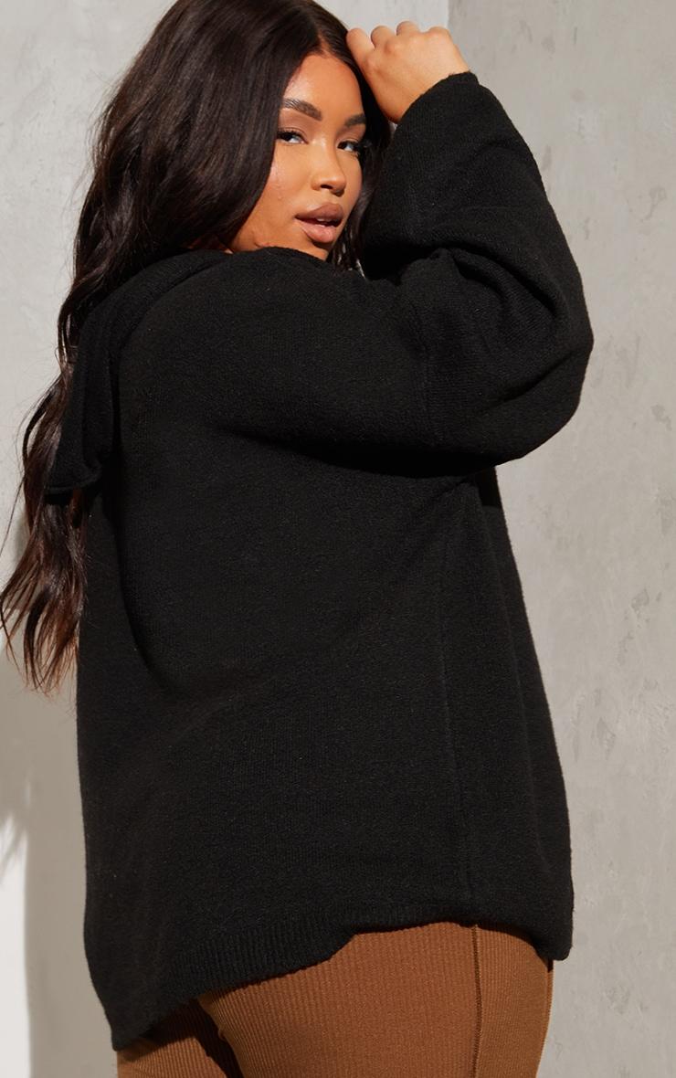 PLT Renew Plus - Hoodie oversize noir 2