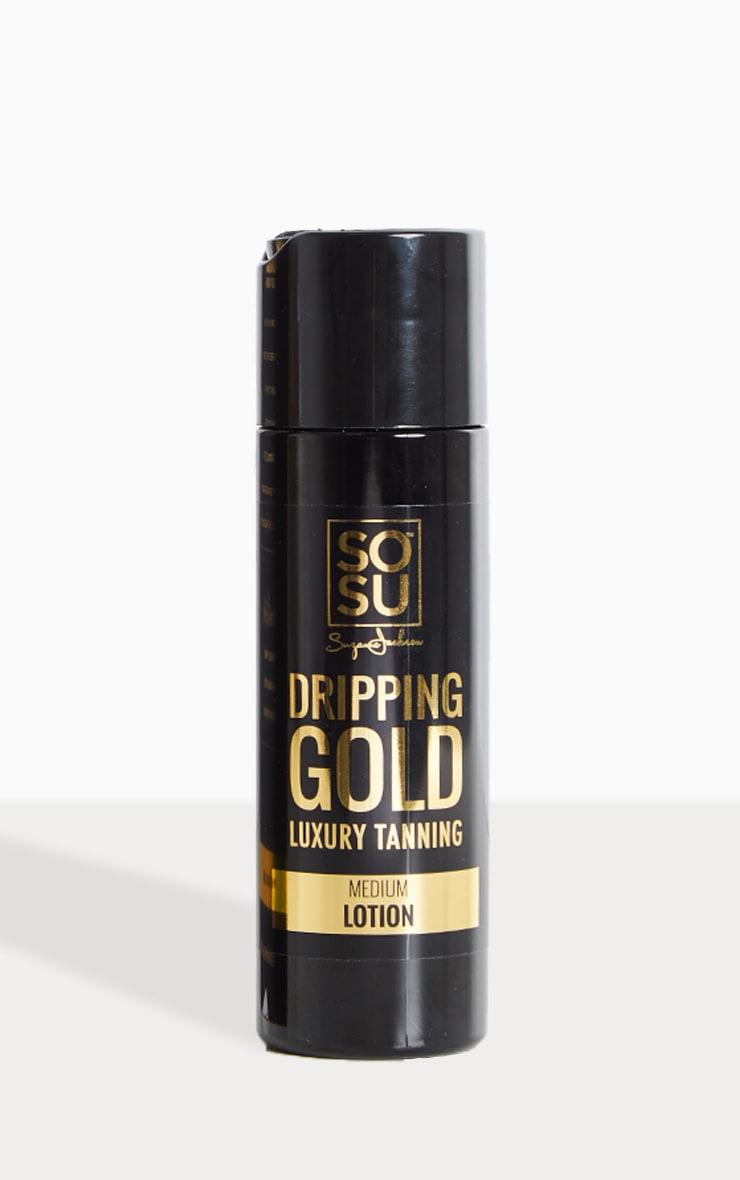 SOSU Dripping Gold Luxury Medium Tan Lotion 1