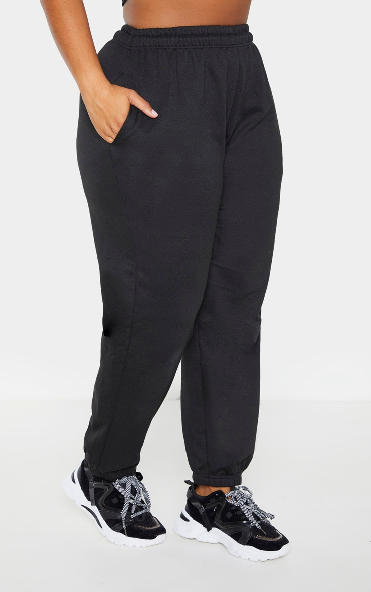 PLT Plus - Pantalon de jogging noir casual 2