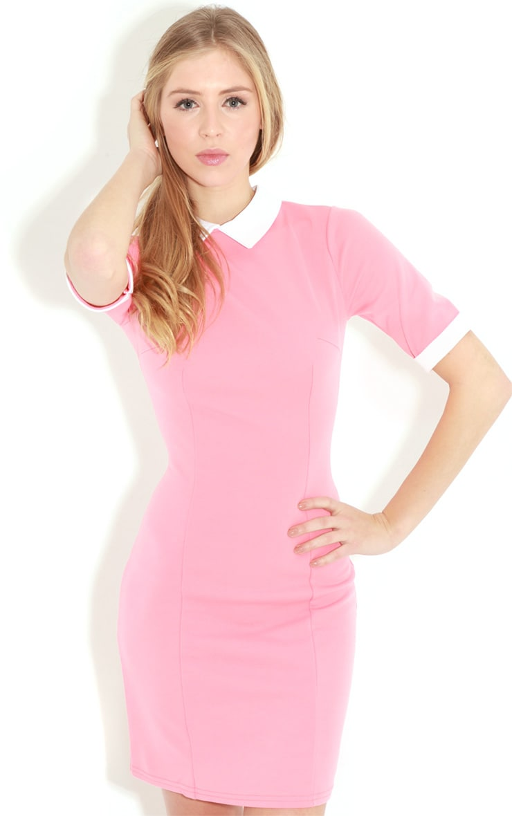 Eileen Coral Collar Dress 4