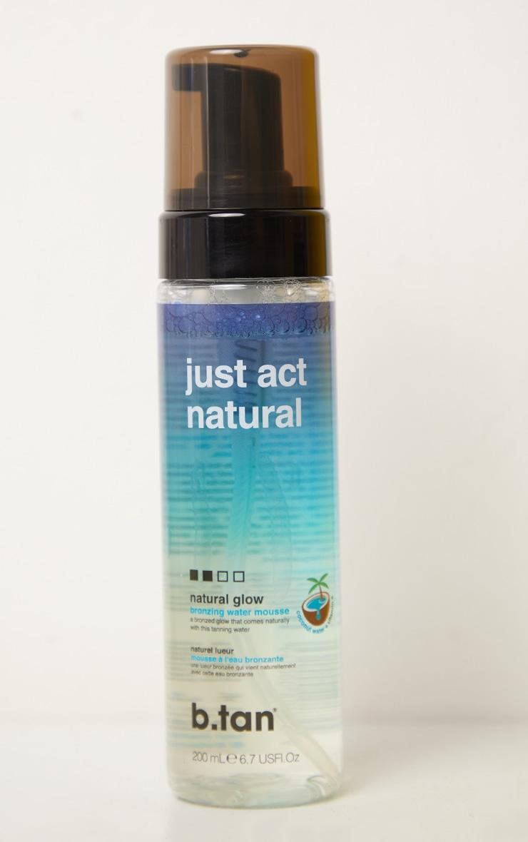 b.tan just act natural self tan mousse 1
