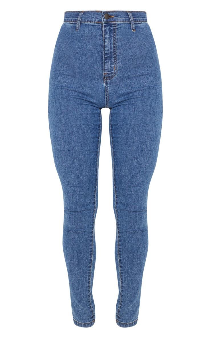 Mid Wash Disco Fit Skinny Jean 3