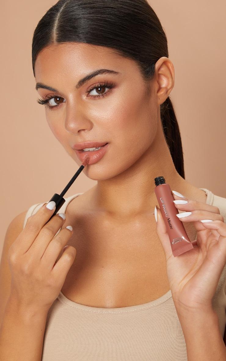 L'Oréal Paris Infallible Nudist Matte Lip Paint 209 Nude on Fleek 4