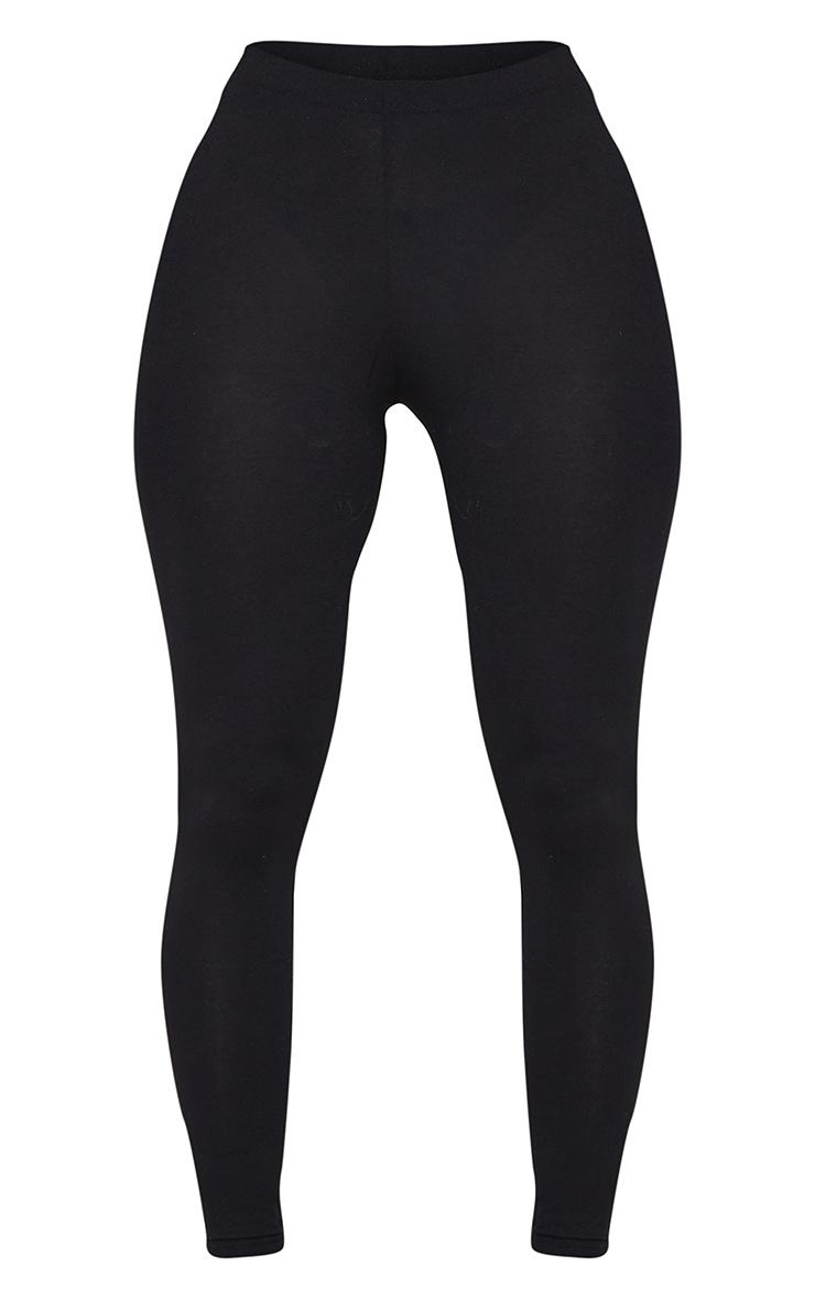 Shape Black Jersey Ruched Bum Leggings 5