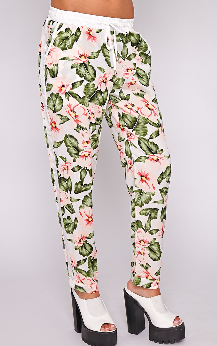 Thea Floral Drawstring Trouser 3