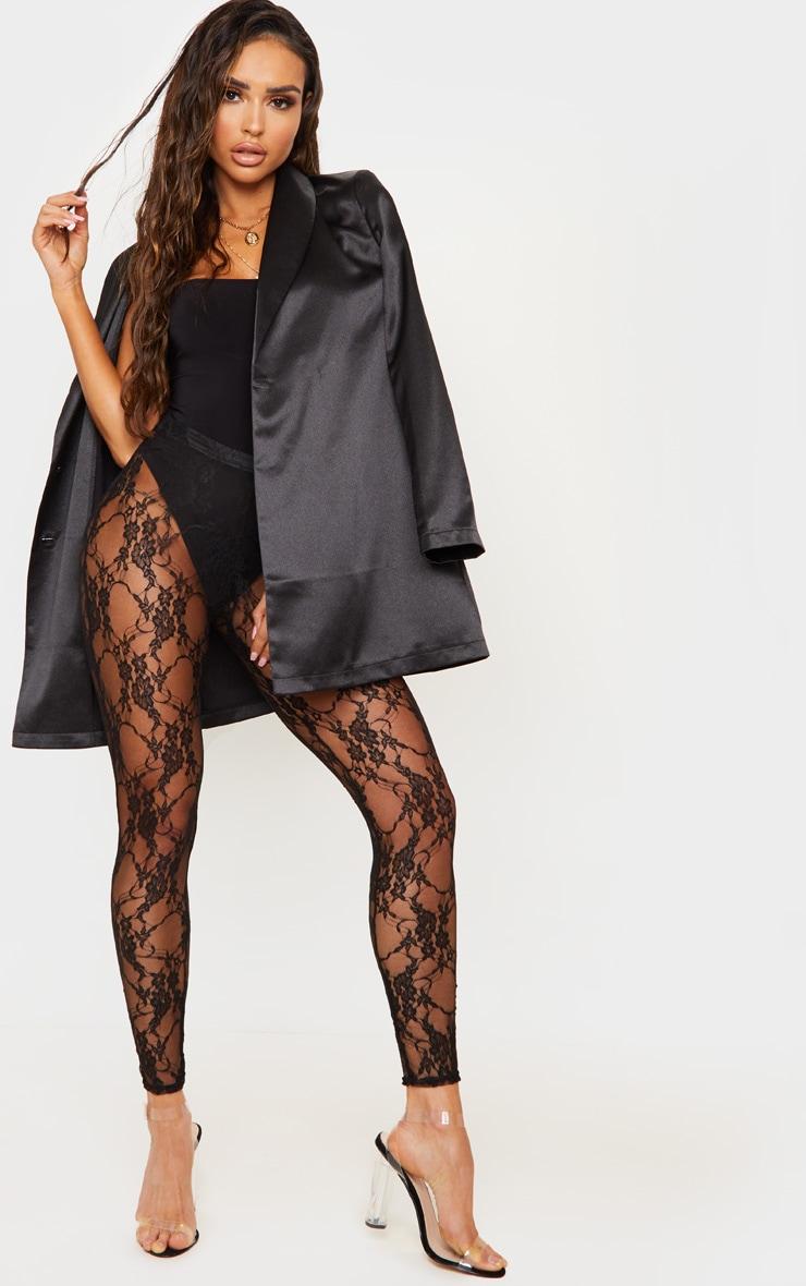 Black Lace Leggings 1