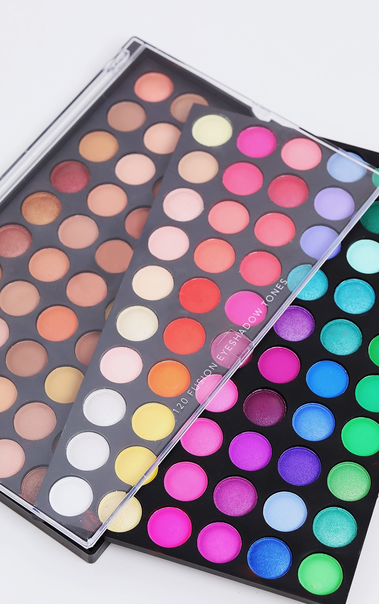 120 Shade Eyeshadow Palette Fusion 2