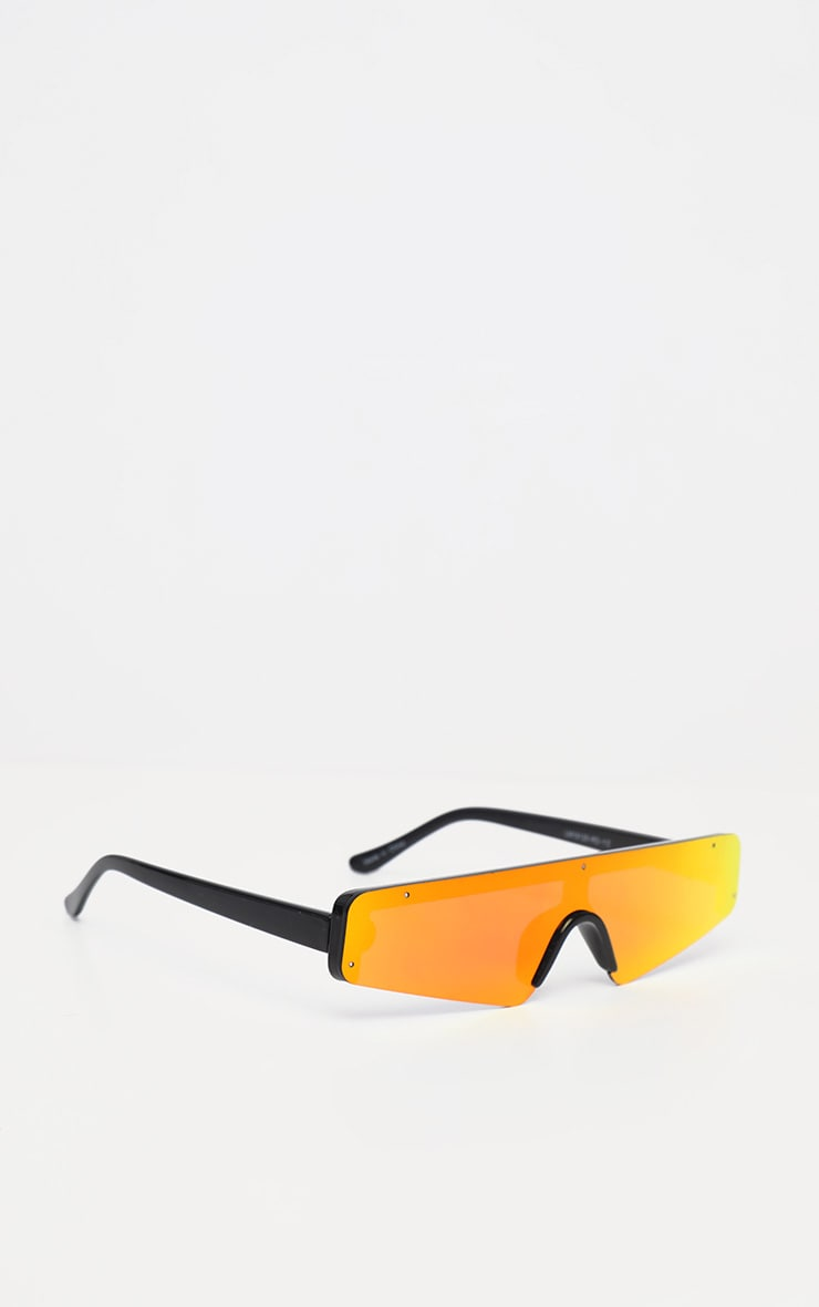 Red Revo Slimline Sporty Sunglasses 3