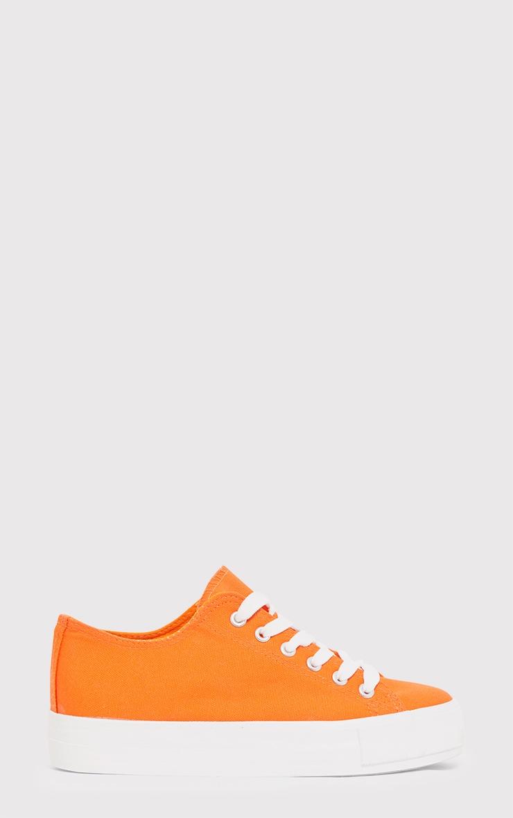 Azura Orange Pumps 2
