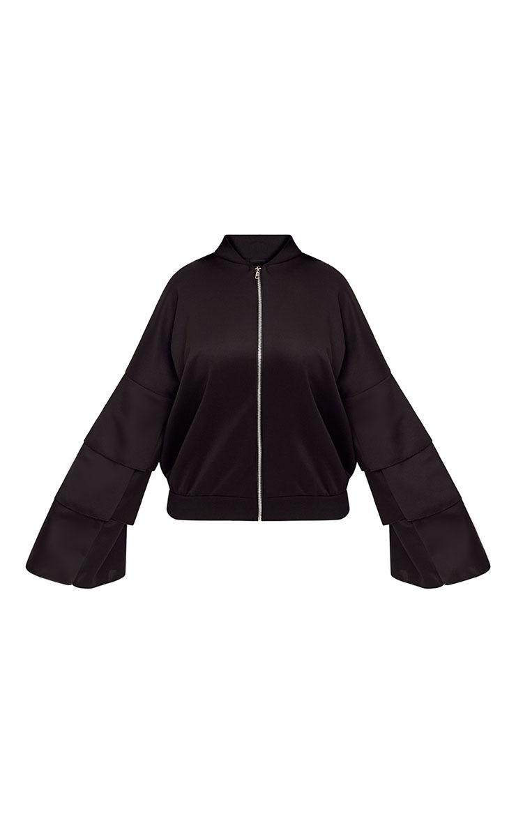 Shape Black So Cute Bomber Jacket 3