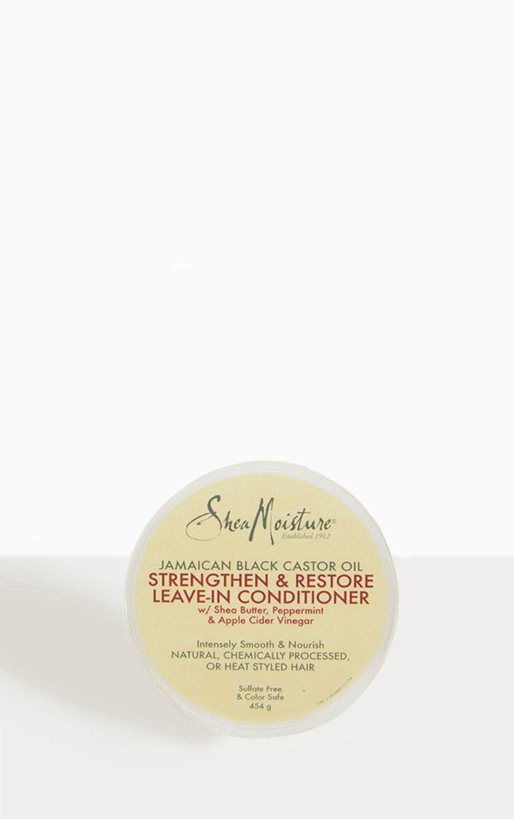 Shea Moisture - Après-shampooing sans rinçage à l'huile de ricin jamaïcaine 2