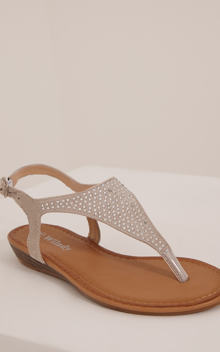 Kerina Stone Embellished Sandals 5