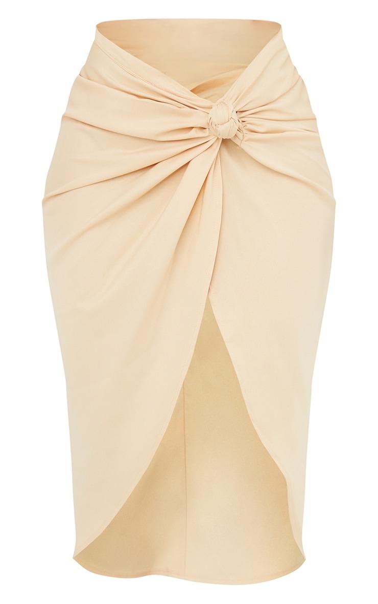 Stone Sarong Midi Skirt 5