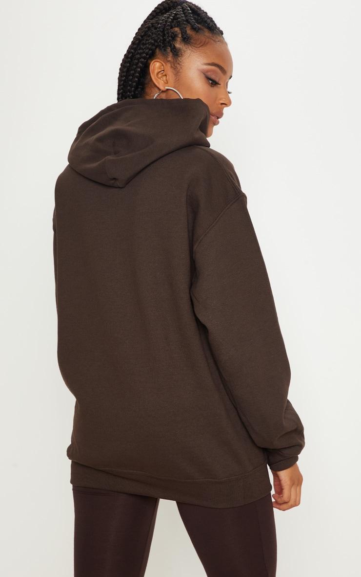 Chocolate Ultimate Oversized Hoodie 2