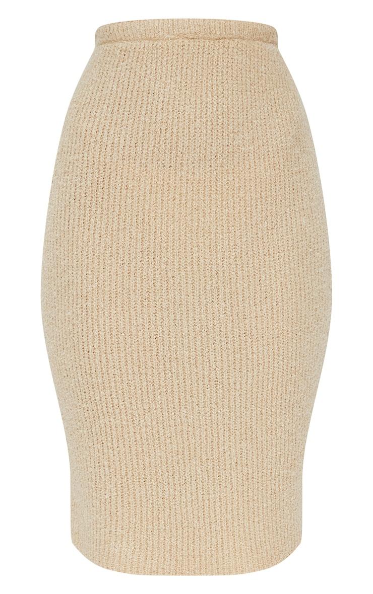 Stone Boucle Knit Skirt 3