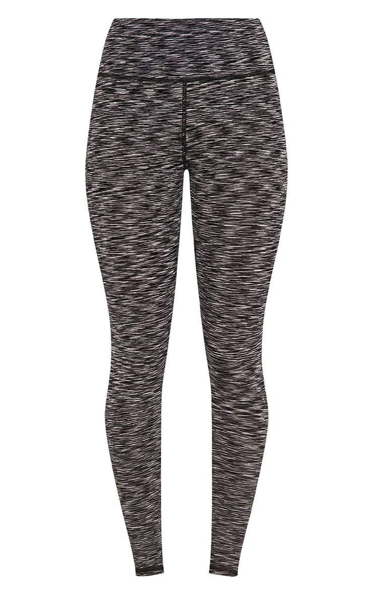 Kaylie leggings sport chiné gris 3