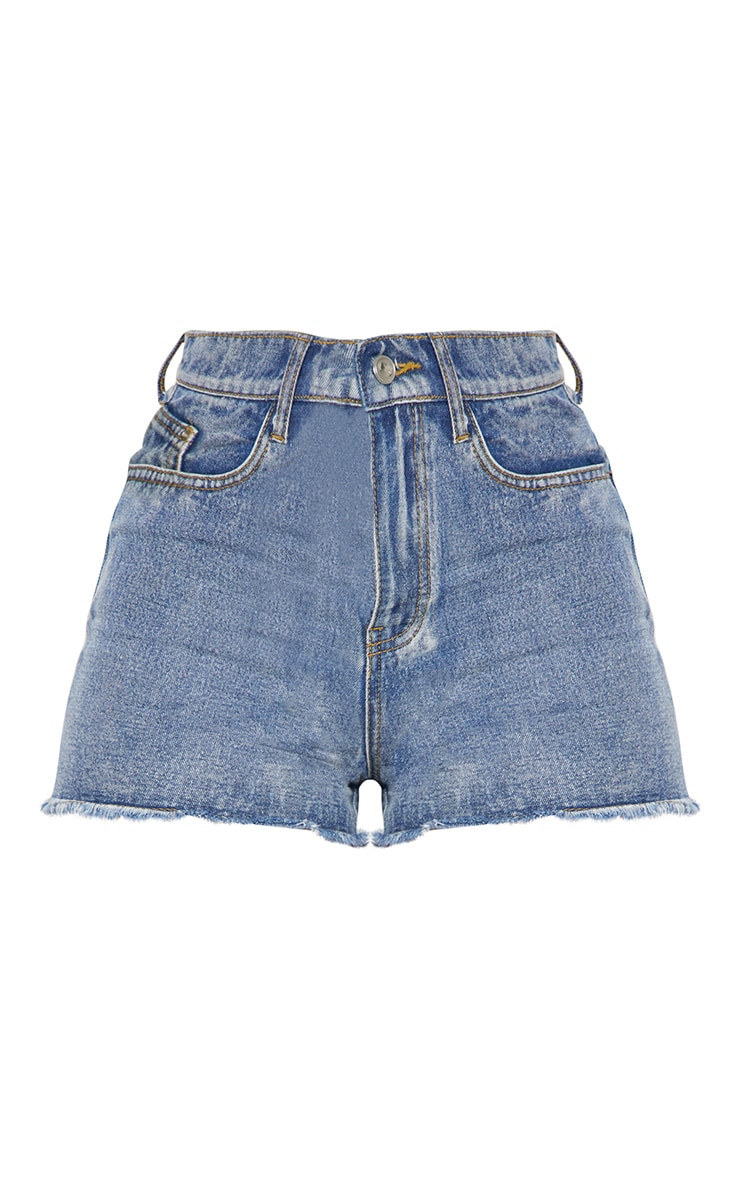 Vintage High Waisted Denim Shorts 4