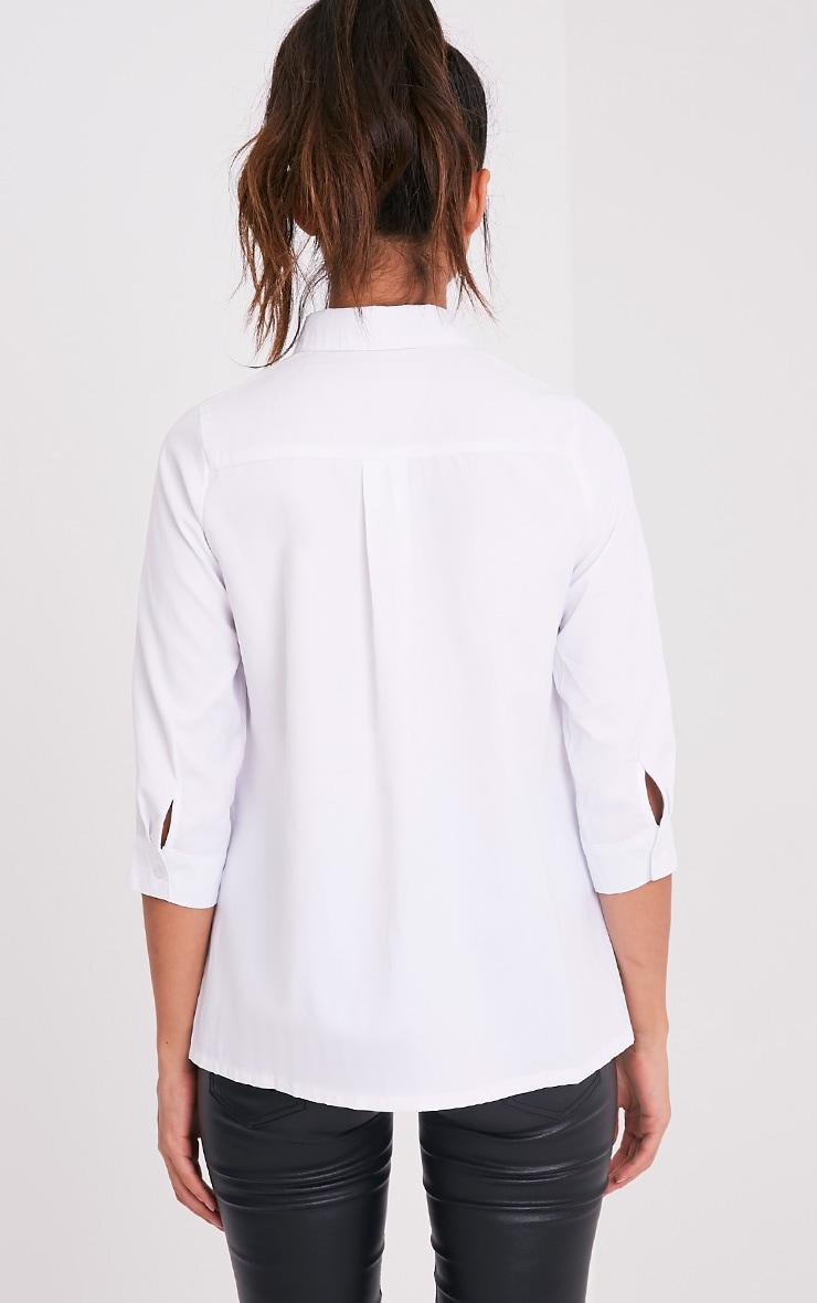 Basic t-shirt blanc 2