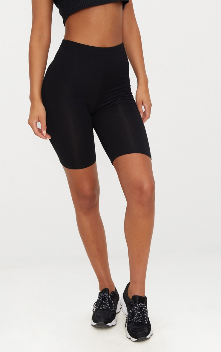 Basic Black Bike Shorts 4